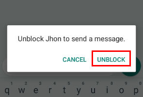 Whatsapp on block how someone How to